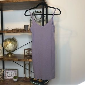 ME to WE💜Lilac Ribbed Tank Dress | Small
